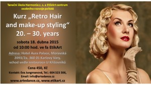 Hair and make up styling